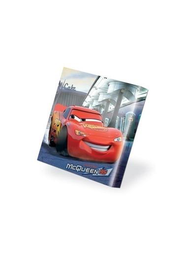 Disney Cars Kanvas Tablo 40X40 Renkli